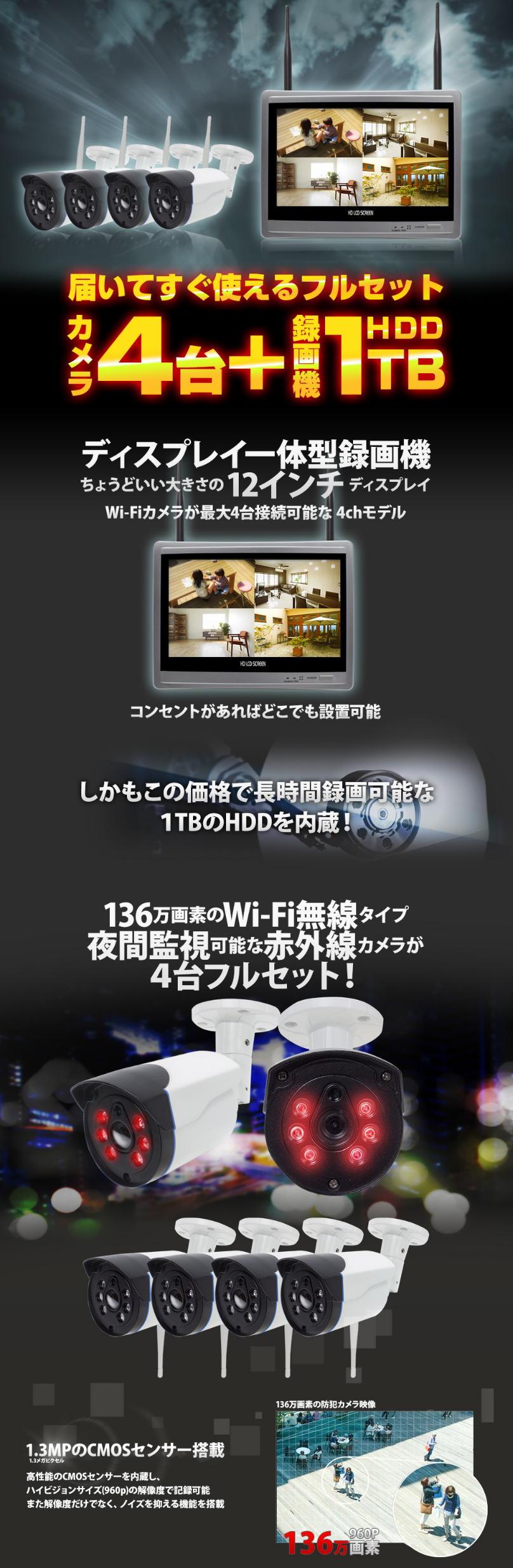 カメラ 防犯 塚本 無線